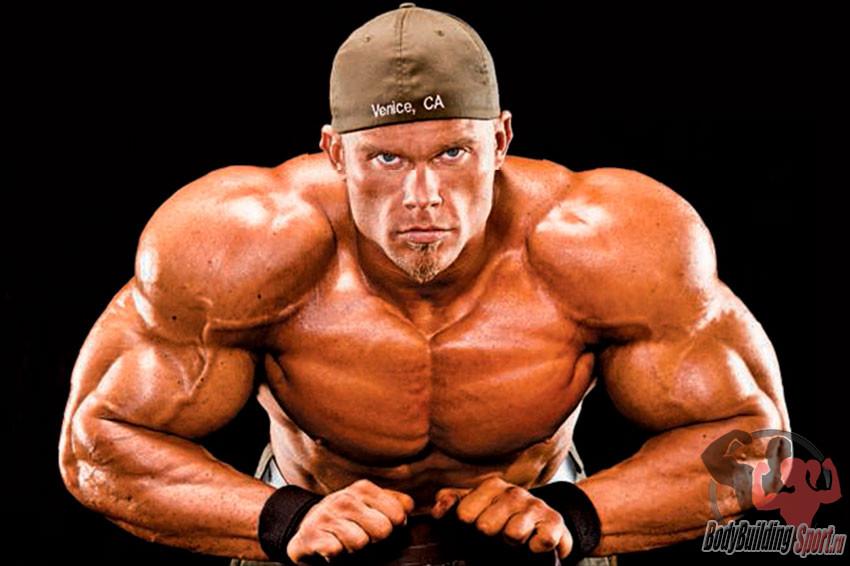 Тренировка плеч на массу