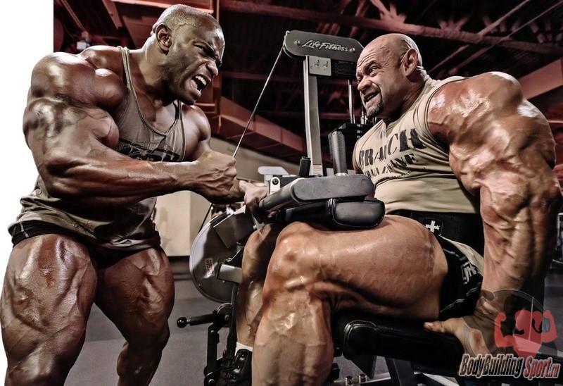 Тренировка атлетов