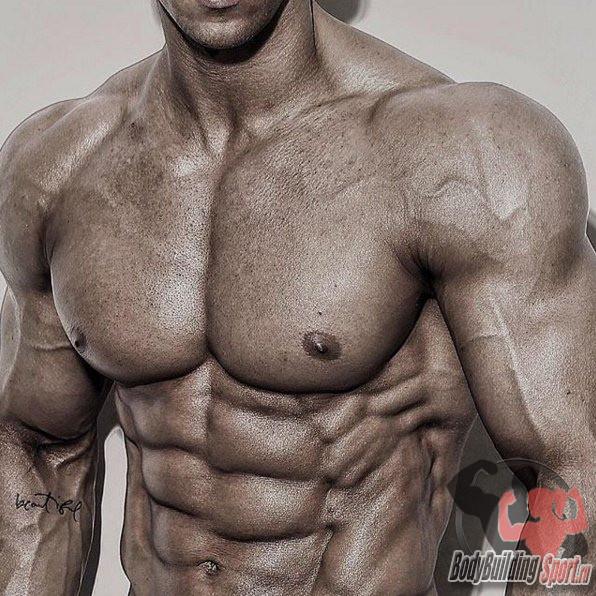 Как прорисовать грудные мышцы