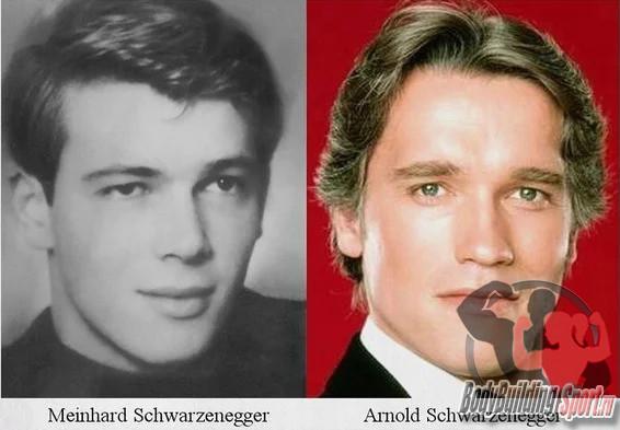 Арнольд Шварцнеггер и его родной брат Мейхард Шварцнеггер